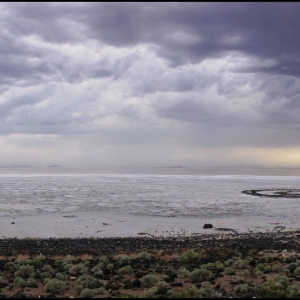 Robert Smithson, Spiral Jetty, Rozel Point UT, 1970