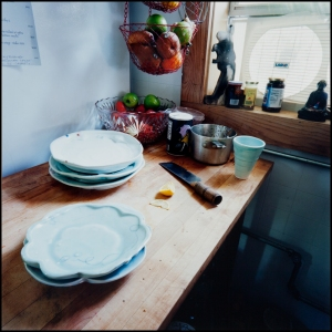 Elizabeth Robinson Wiley, Starving Wolf Cafe, Nelsonville OH, 2003